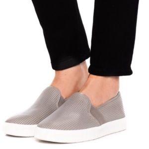 Vince Woodsmoke Perforated Slip On Sneakers